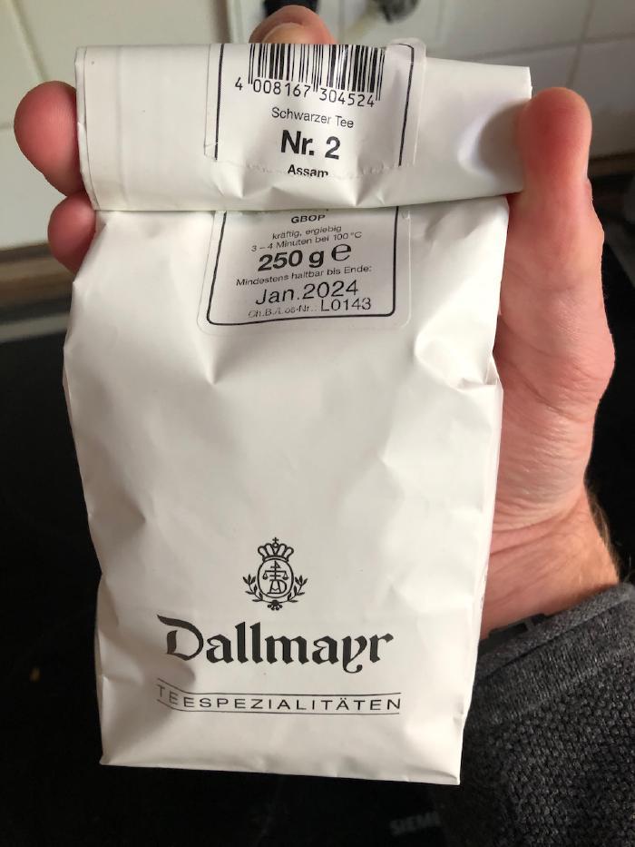 Dallmayr Black Tea Nr. 2 Asam GBOP