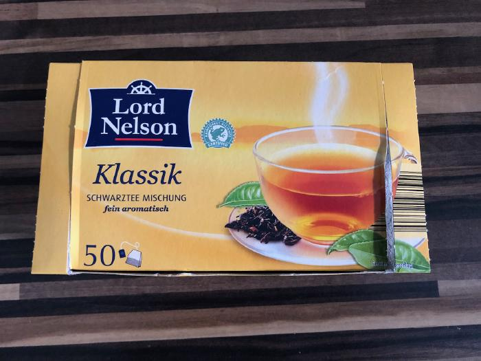Lord Nelson Klassik Black Tea